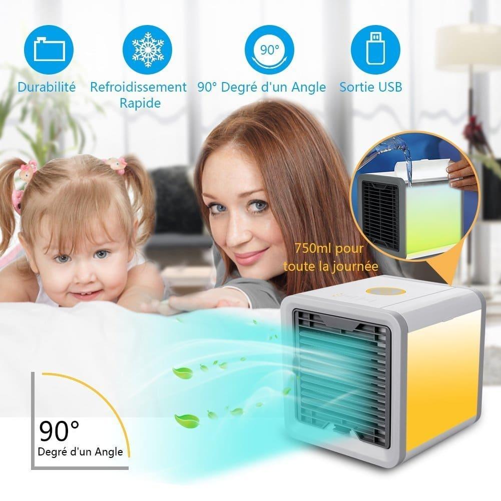 Rafraîchisseur, refroidisseur d'air cube