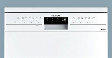 Tableau de bord du lave vaisselle Siemens 14 couverts