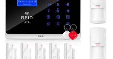 Comparatif alarmes maison sans fil