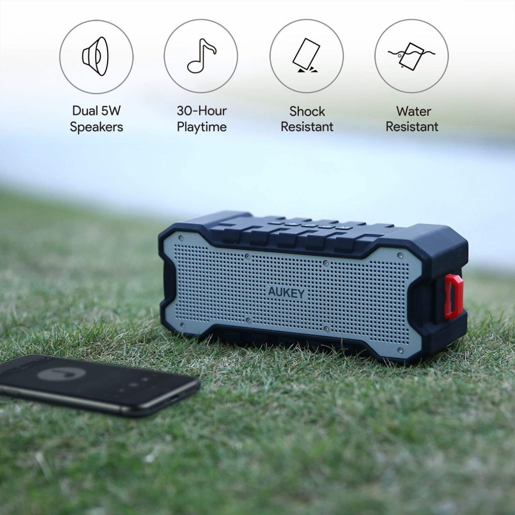 Enceinte Bluetooth Waterproof 30 d'autonomie