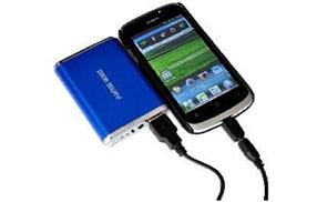 Recharge d'un smartphone avec une Power bank