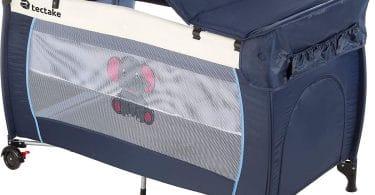 Lit Bébé Parapluie Pliant réglable TecTake