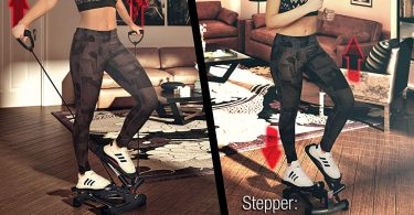 Utilisation du stepper d'appartement Sportstech Twister 2 en 1