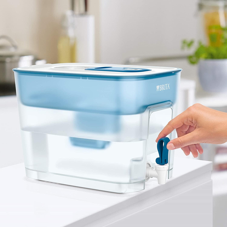 Carafe filtrante à eau de grande capacité