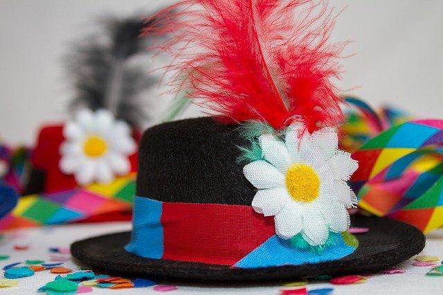 Chapeau festif