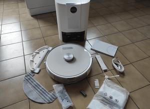 Test du robot aspirateur laveur Ultenic T10